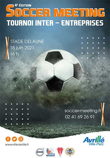 Tournoi de foot- soccer meeting 2021 à Avrillé